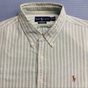 Men's RALPH LAUREN POLO Long Sleeve Shirt XXL 2XL